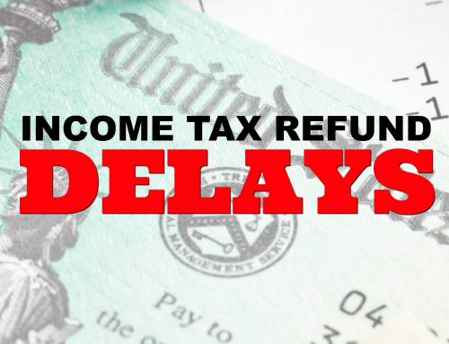 Why is it taking so long for the IRS to process my tax refund?