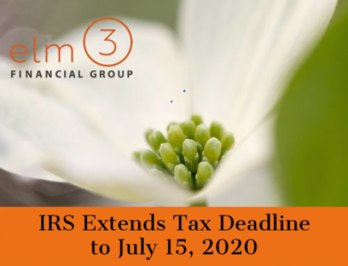 Tax Day is Now July 15, 2020