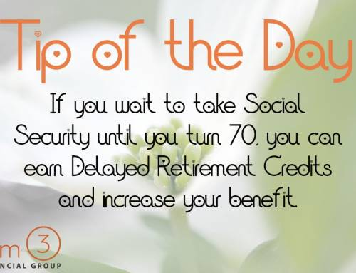 Tip of the Day: Social Security Benefits