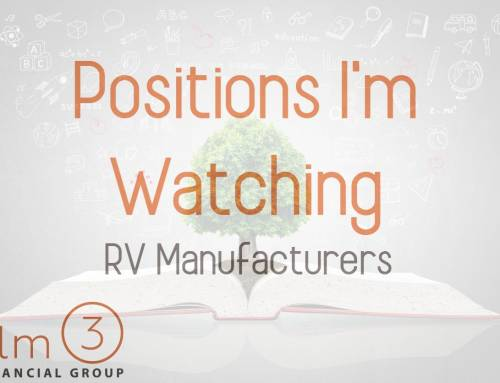 Positions I'm Watching: RV Manufacturers