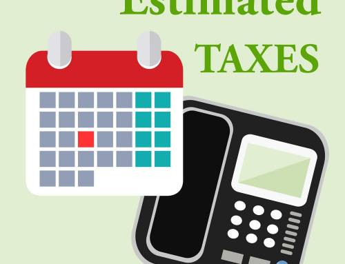 Estimated Tax Payments Due This Thursday